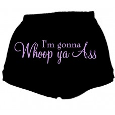 im gonna whoop ya ass - fitness shorts